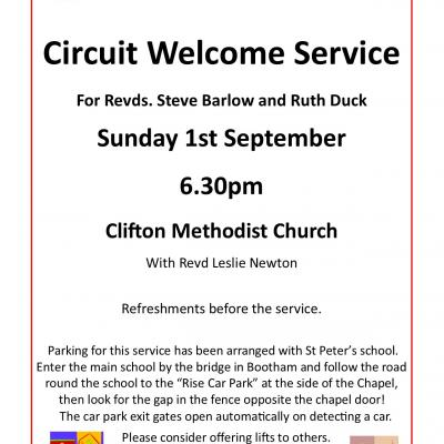 Circuit Welcome service